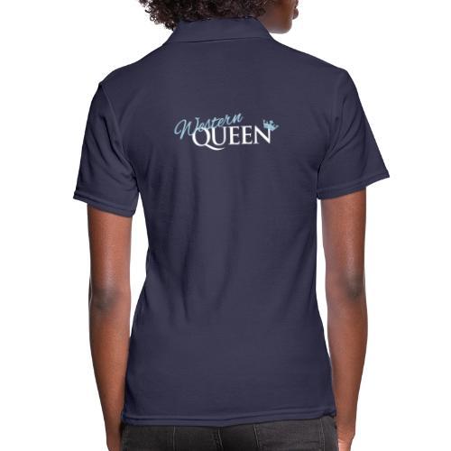 Western-Queen - Frauen Polo Shirt