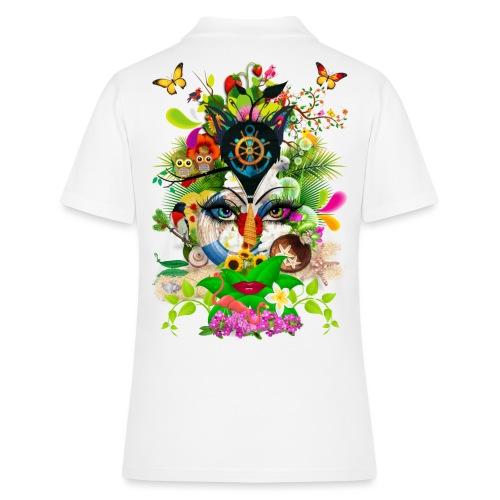 Parfum d'été by T-shirt chic et choc - Women's Polo Shirt