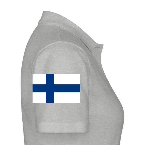 800pxflag of finlandsvg - Naisten pikeepaita