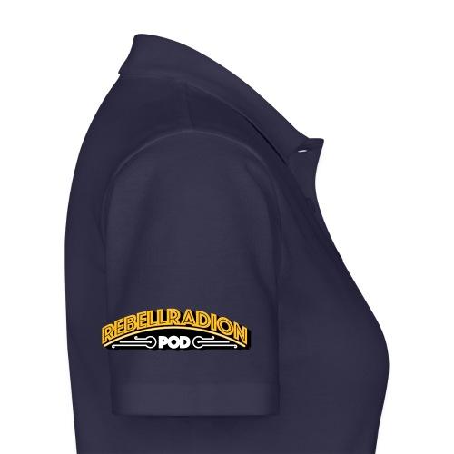 rebellradion logo 2017 - Women's Polo Shirt