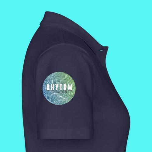 Rhythm On The Run Logo - Women's Polo Shirt