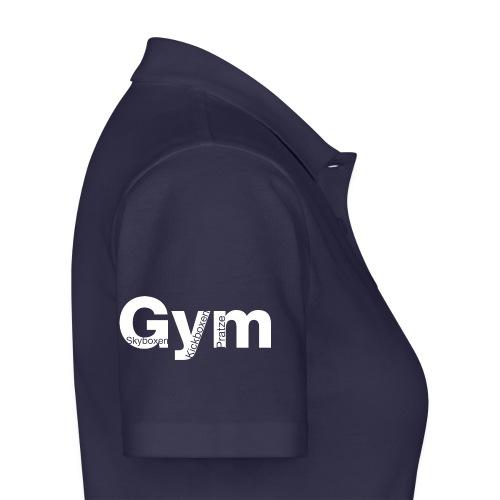 Gym weiß - Frauen Polo Shirt