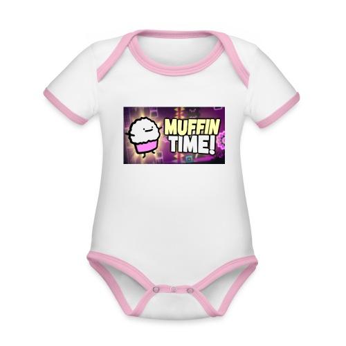 Its Muffin Time 2 - Baby Bio-Kurzarm-Kontrastbody