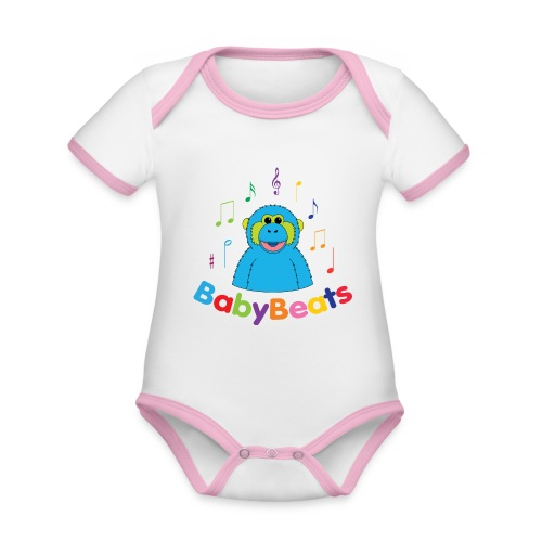 BabyBeats - Organic Baby Contrasting Bodysuit