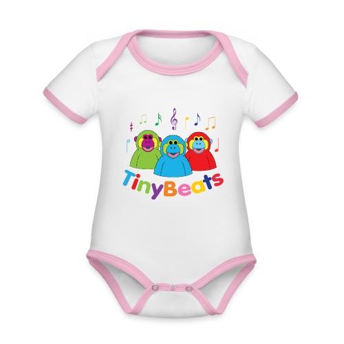 TinyBeats - Organic Baby Contrasting Bodysuit