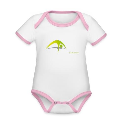 NFF Gymnastics - Baby Bio-Kurzarm-Kontrastbody