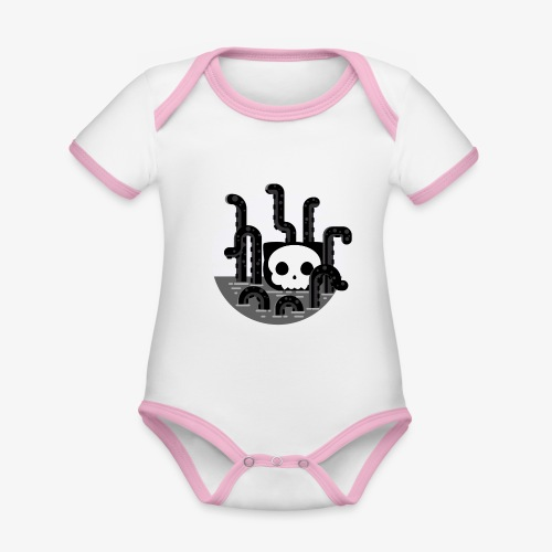 Cat octopus | Monster cat Github | Css | Web - Organic Baby Contrasting Bodysuit