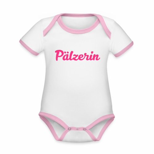 Pälzerin - Baby Bio-Kurzarm-Kontrastbody