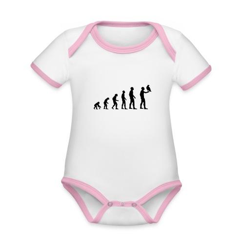 Evolution Falkner - Baby Bio-Kurzarm-Kontrastbody