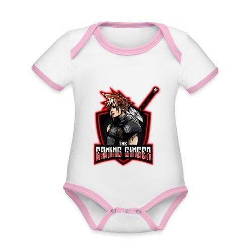 The Ginger - Baby Bio-Kurzarm-Kontrastbody