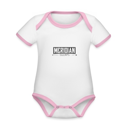 Sgorps Logo - Baby Bio-Kurzarm-Kontrastbody