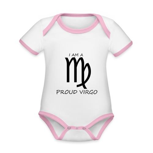 VIRGO - Organic Baby Contrasting Bodysuit