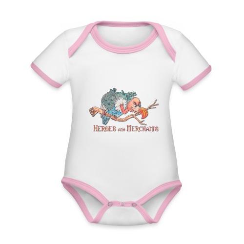 Scavenger - Baby Bio-Kurzarm-Kontrastbody