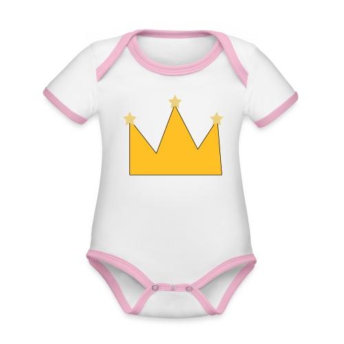 kroon - Body Bébé bio contrasté manches courtes