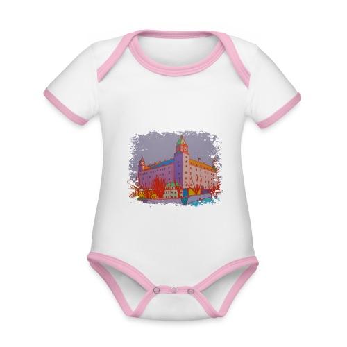 Bratislava - Baby Bio-Kurzarm-Kontrastbody