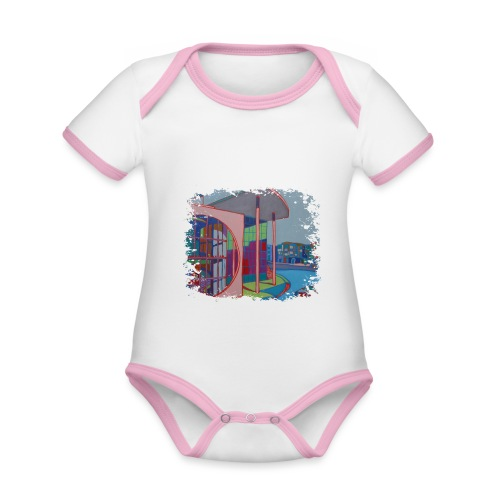 Berlin - Baby Bio-Kurzarm-Kontrastbody