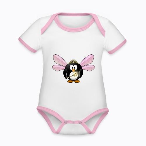 fairy tux - Organic Baby Contrasting Bodysuit