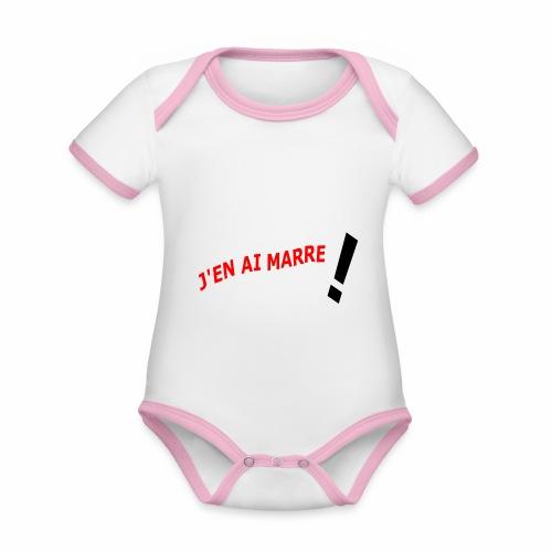 J'EN AI MARRE ! - Organic Baby Contrasting Bodysuit