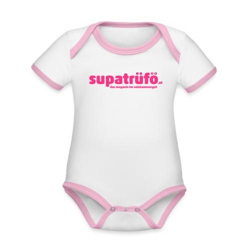supatrüfö das magazin im salzkammergut - Baby Bio-Kurzarm-Kontrastbody
