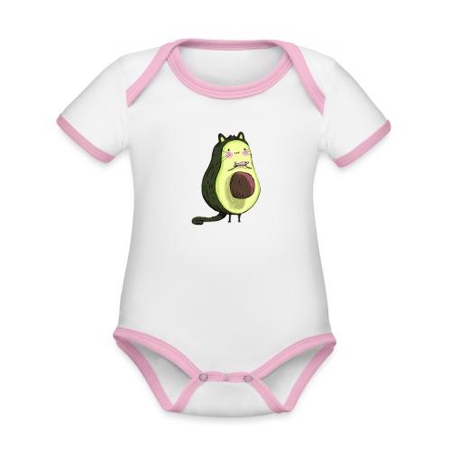 Catocado - Organic Baby Contrasting Bodysuit