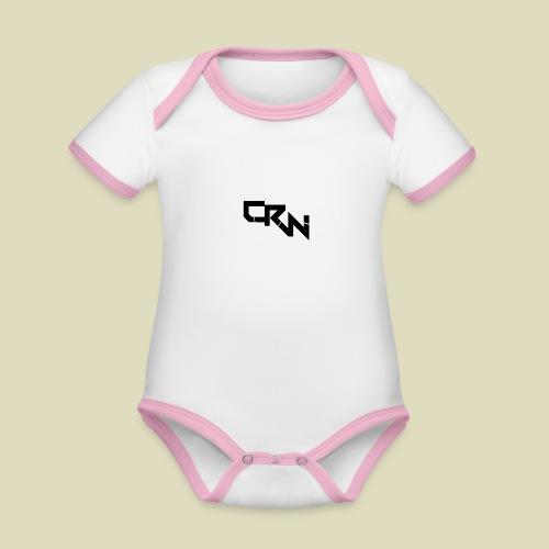 Logo - Baby Bio-Kurzarm-Kontrastbody