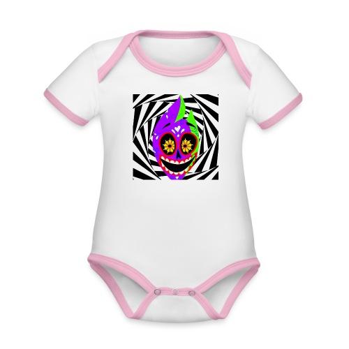 Halloween - Baby Bio-Kurzarm-Kontrastbody