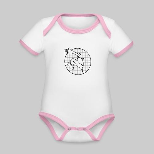 Läufer - Baby Bio-Kurzarm-Kontrastbody
