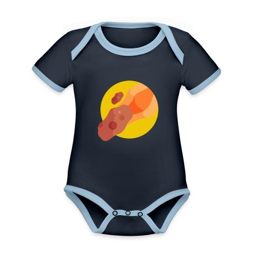 Asteroide - Body contraste para bebé de tejido orgánico