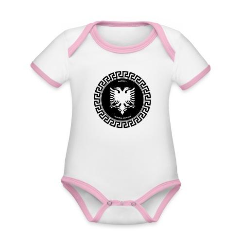 Patrioti Medusa - Baby Bio-Kurzarm-Kontrastbody