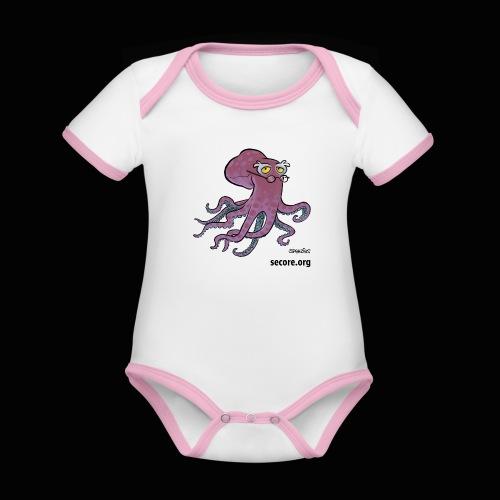 Doc Kraken - Organic Baby Contrasting Bodysuit