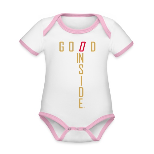 GOOD INSIDE - Organic Baby Contrasting Bodysuit