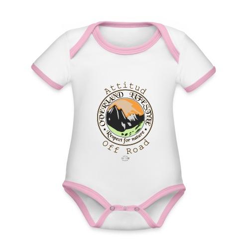 24 Overland LifeStyle - Body contraste para bebé de tejido orgánico