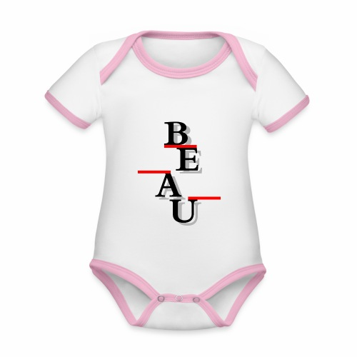 Beau - Organic Baby Contrasting Bodysuit
