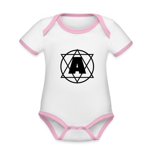 Copy of Baby Boy 1 - Organic Baby Contrasting Bodysuit