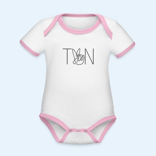 LOGOBRO - Organic Baby Contrasting Bodysuit