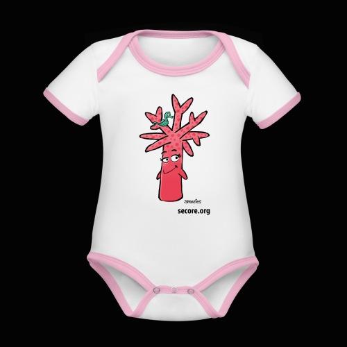 Bran Ramosy - Organic Baby Contrasting Bodysuit