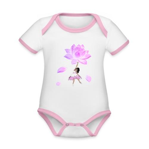 Fly beautiful - Baby Bio-Kurzarm-Kontrastbody
