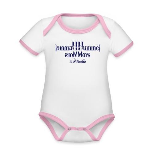 Hummel Hummel Mors Mors - Baby Bio-Kurzarm-Kontrastbody