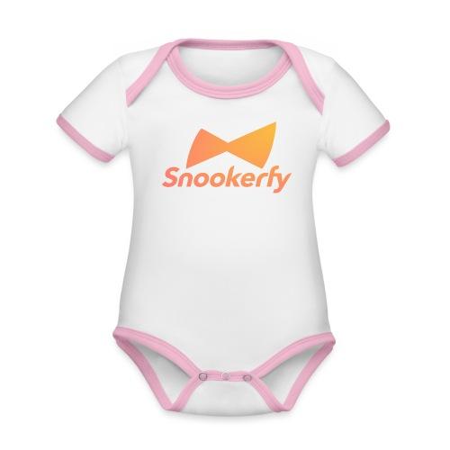 Snookerfy - Organic Baby Contrasting Bodysuit