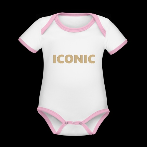 ICONIC [Cyber Glam Collection] - Organic Baby Contrasting Bodysuit