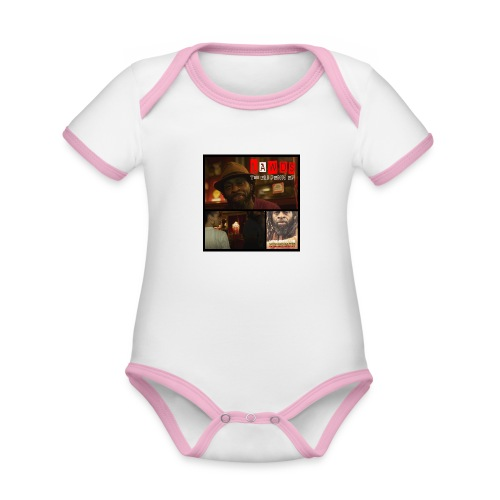 The Eli Penn EP Front - Organic Baby Contrasting Bodysuit