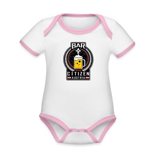 BarCitizen Austria Logo - Baby Bio-Kurzarm-Kontrastbody