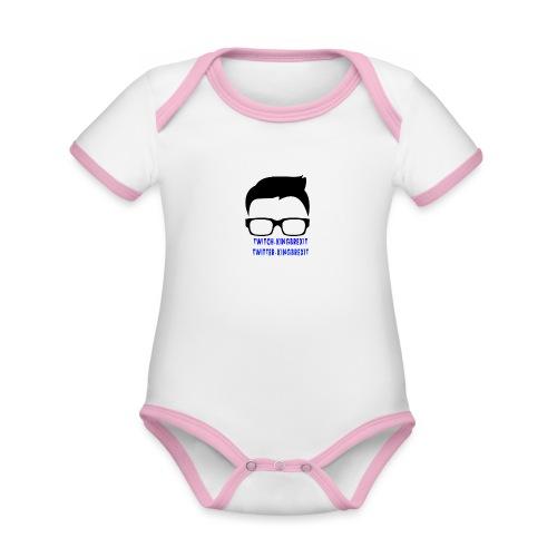 silloette - Organic Baby Contrasting Bodysuit
