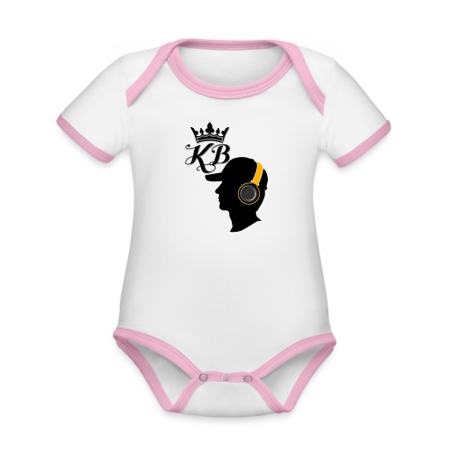 headphones - Organic Baby Contrasting Bodysuit