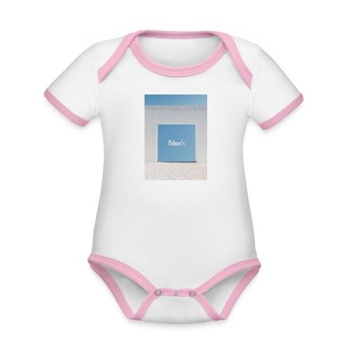 Palmer's Window - Body contraste para bebé de tejido orgánico