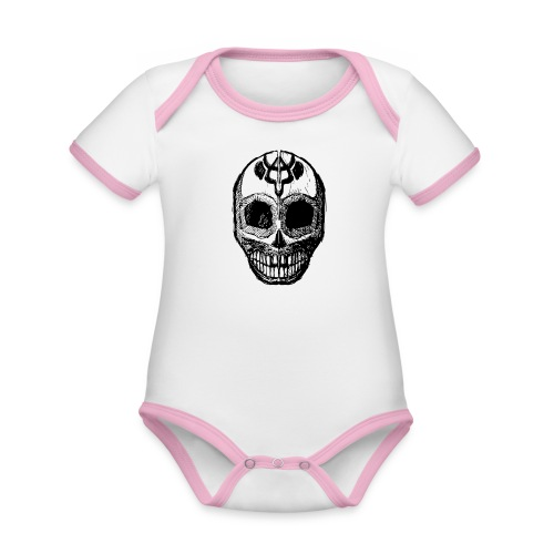 Skull of Discovery - Organic Baby Contrasting Bodysuit