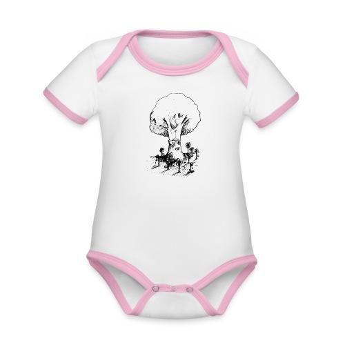Sage Tree - Organic Baby Contrasting Bodysuit