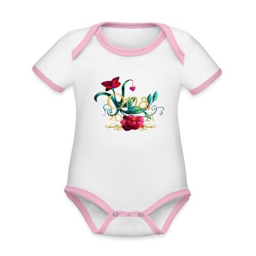 Oma 2021 - Baby Bio-Kurzarm-Kontrastbody