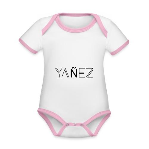 Yañez-YZ - Baby Bio-Kurzarm-Kontrastbody