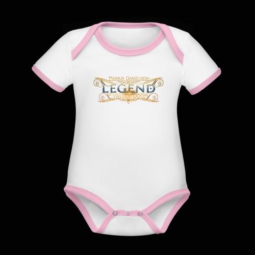 Album Logo - Organic Baby Contrasting Bodysuit